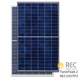 rec twin peak solar panels